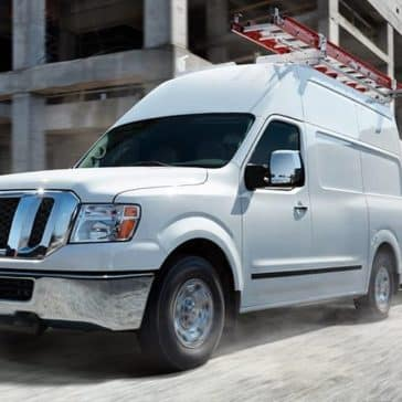 2018 Nissan NV Cargo Towing