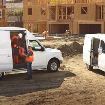 2018 Nissan NV Cargos At Jobsite