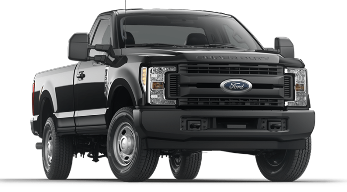 2019 Ford Super Duty Black