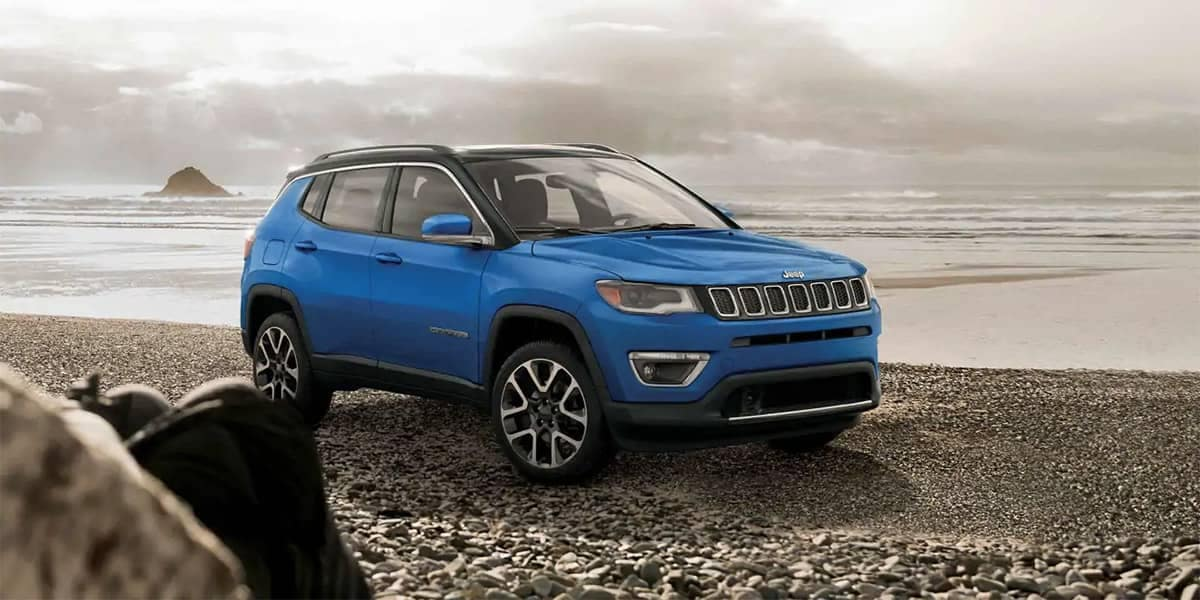 2019 Jeep Compass Blue