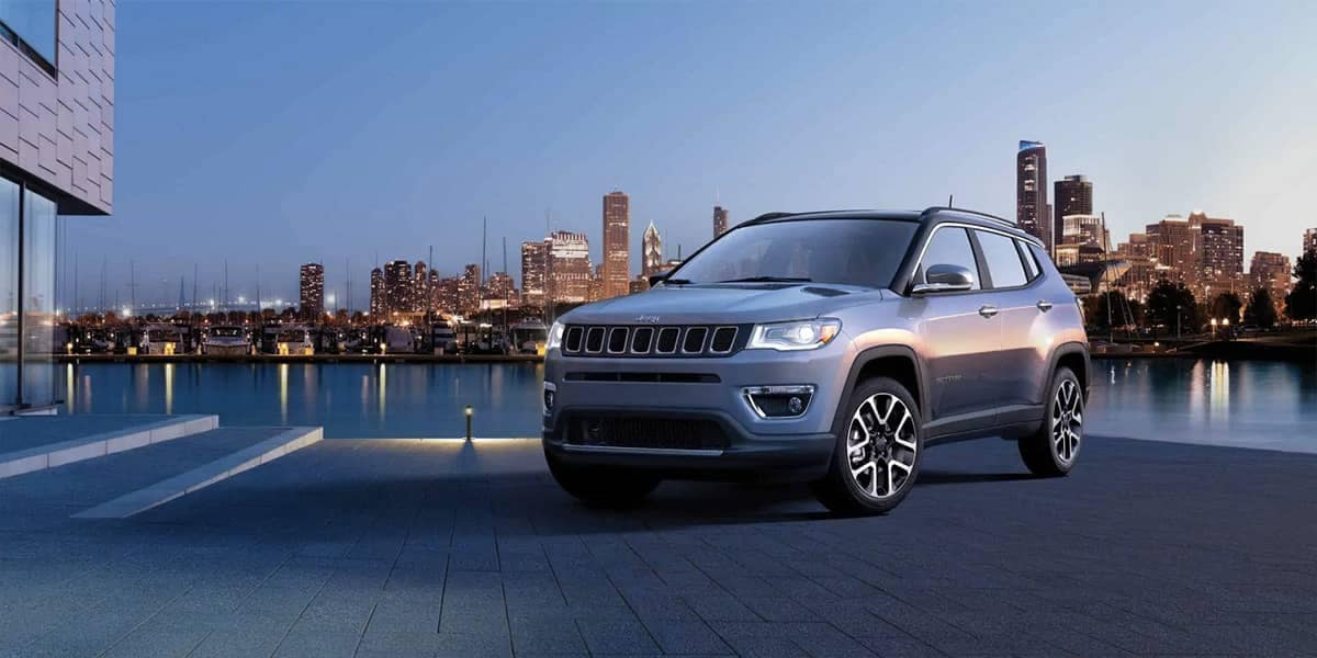 2019 Jeep Compass At Dusk