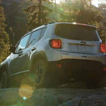 2019 Jeep Renegade Rear
