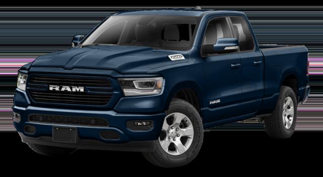 2019 All New Ram 1500 Blue