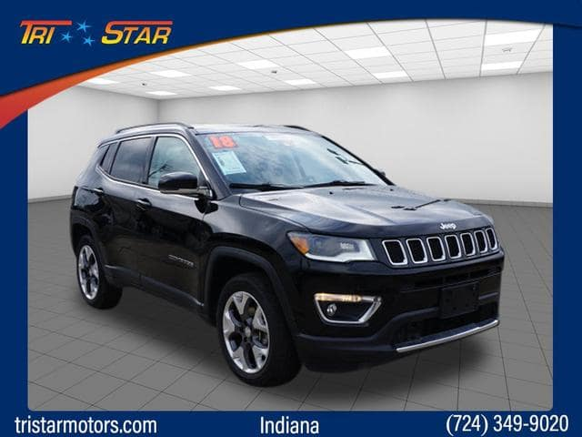 Certified Pre-Owned 2018 Jeep Compass Limited 4WD