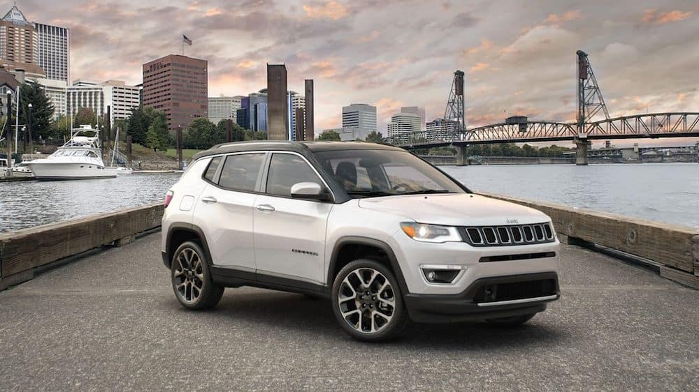 2020 Jeep Compass Parked Blog