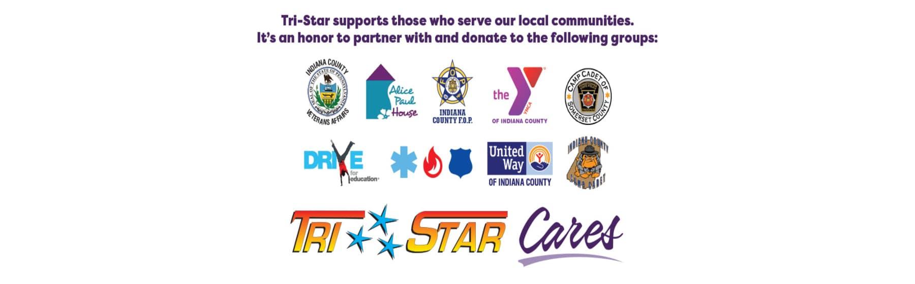 Tri-Star Indiana Charity Work