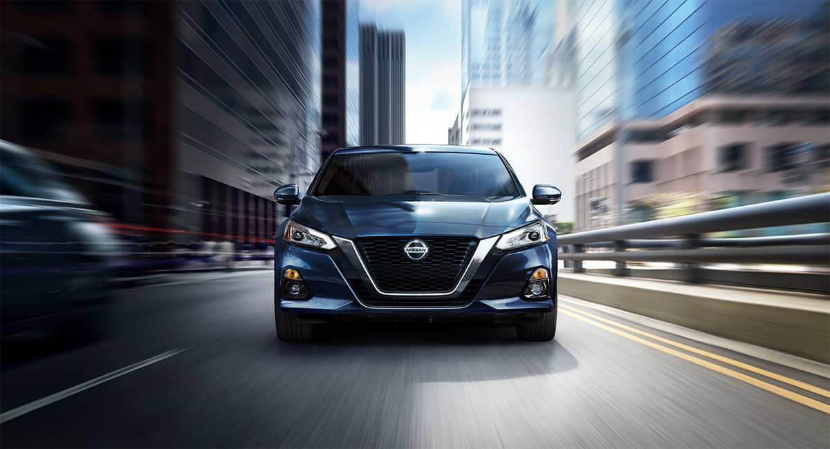 2019 Nissan Altima front driving view