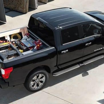 2019 Nissan Titan Loaded Bed