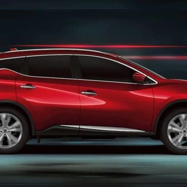 2020 Nissan Murano Side View