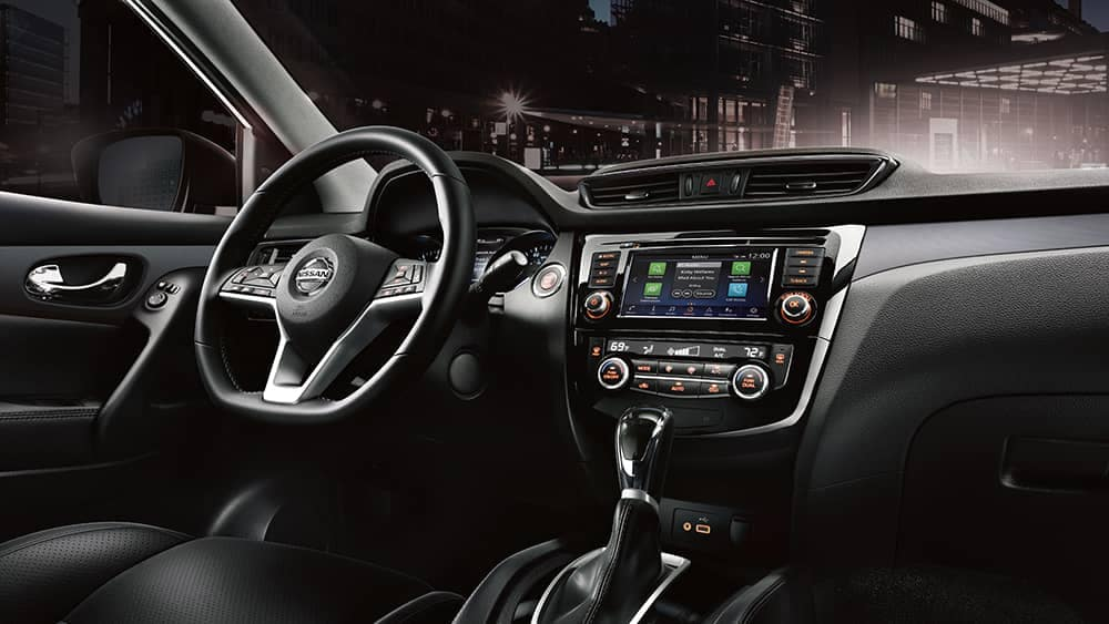 2020 Nissan Rogue Sport Dash