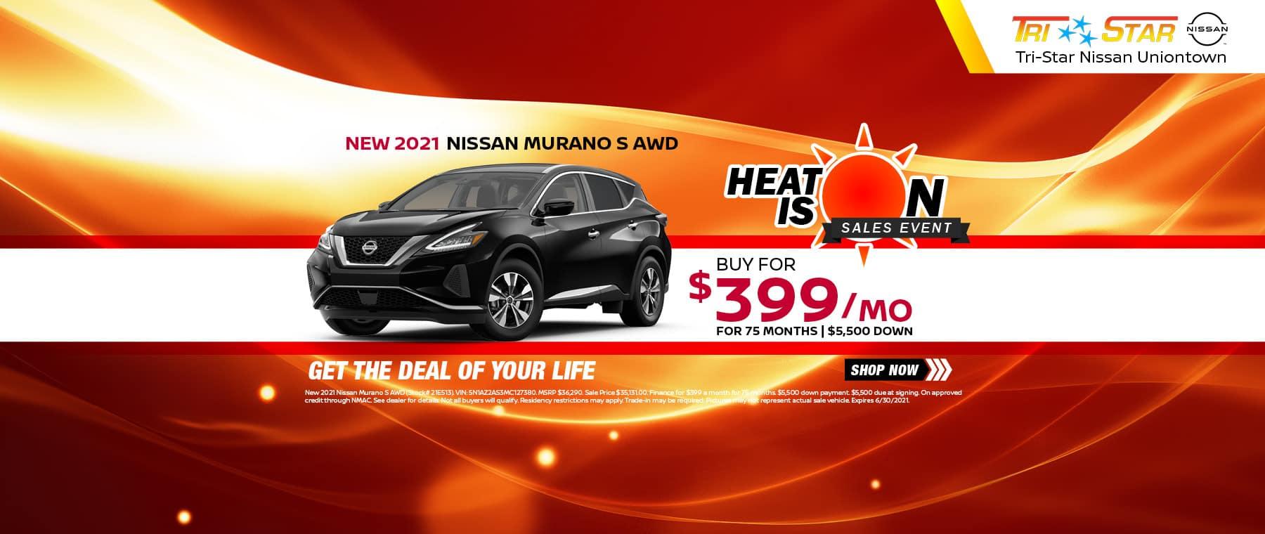 Heat Is On Nissan Murano