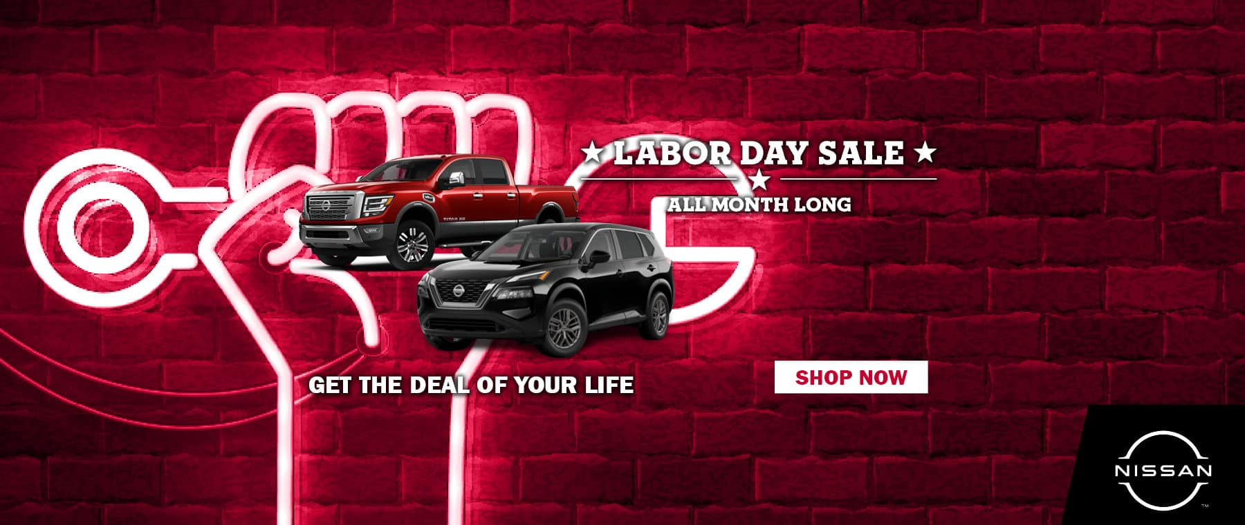 Labor Day Sale All Month Long
