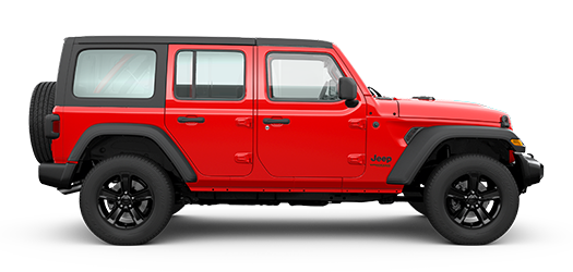 Wrangler Unlimited Sport Altitude Firecracker Red