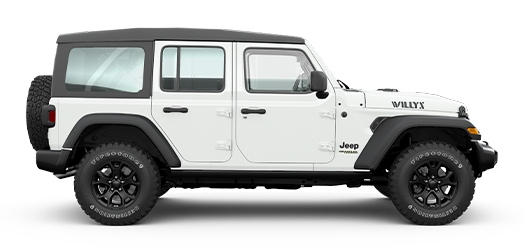 Wrangler Unlimited Willys Bright White