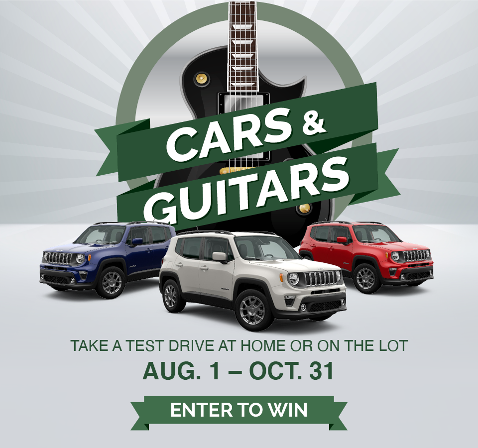 Cars and Guitars Giveaway Event