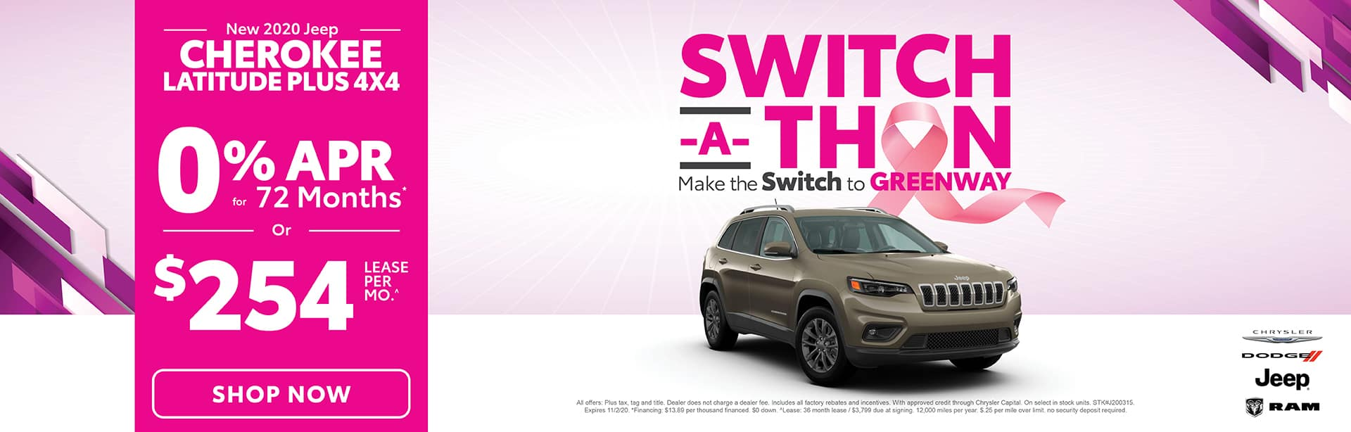 Switch-A-Thon - Cherokee