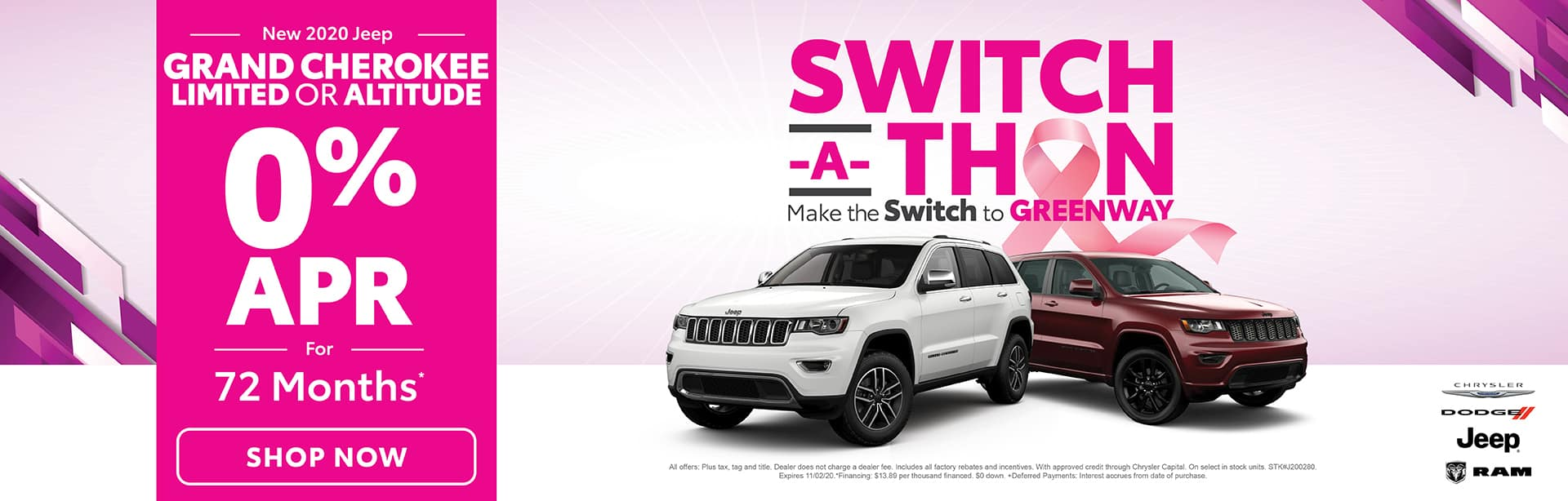 Switch-A-Thon - Grand Cherokee