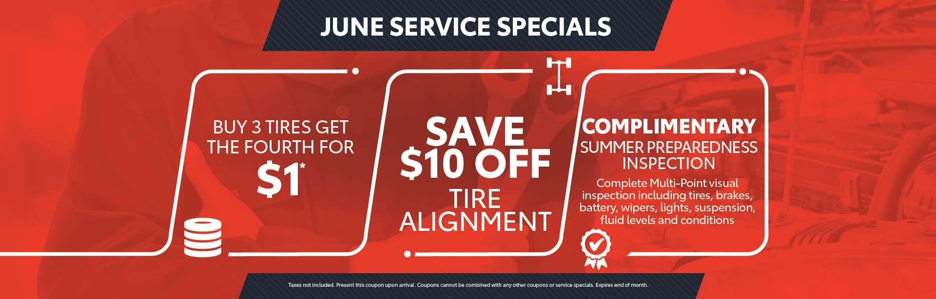 June - service specials