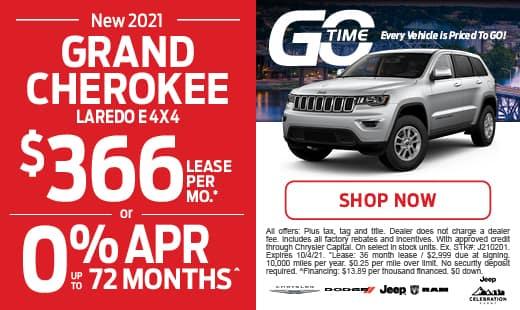Go Time - New 2021 Cherokee