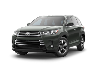Toyota Highlander at Ventura Toyota dealership near Simi Valley