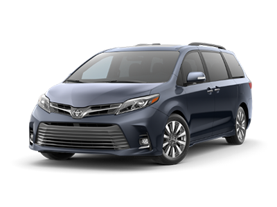 Toyota Sienna at Ventura Toyota dealership near Thousand Oaks