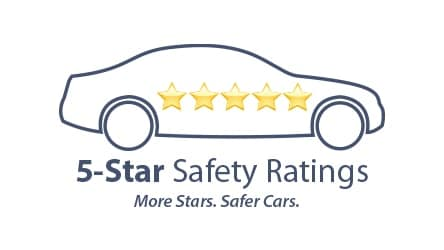 new Toyota RAV4 2018 NHTSA 5 Star Safety Rating award