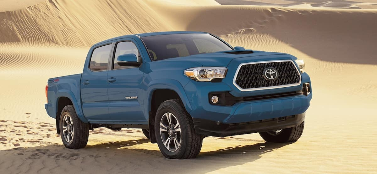 New 2019 Toyota Tacoma truck for sale vs the competition at Ventura Toyota dealership near Oxnard