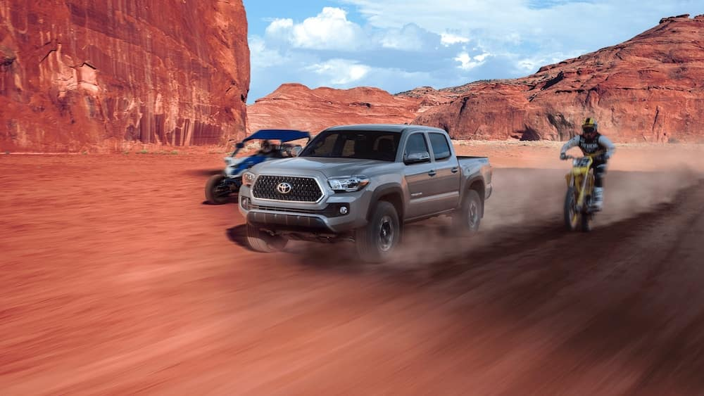 new 2019 Toyota Tacoma 0-60 mph time vs the competition
