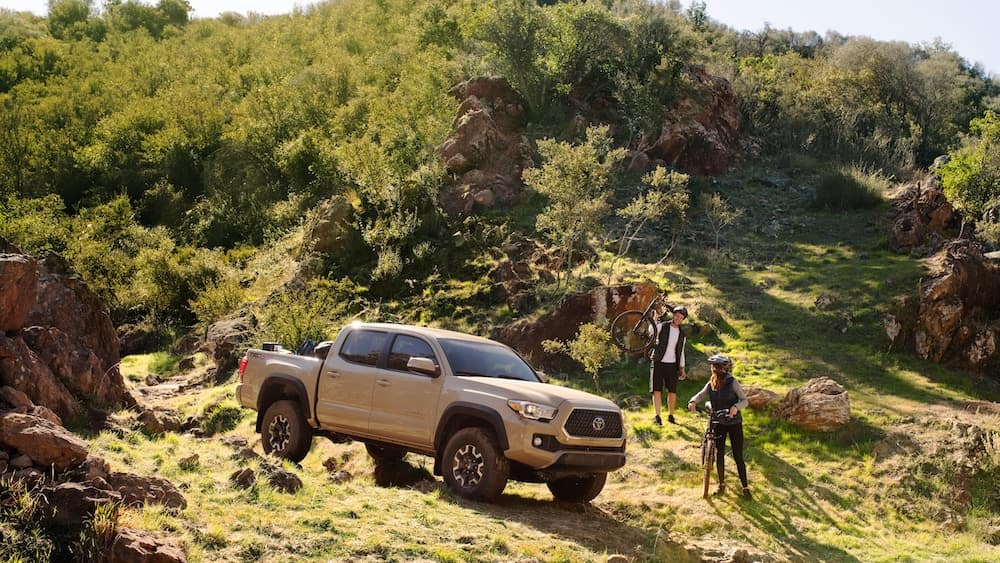 new 2019 Toyota Tacoma driver pre-collision alert system vs the competition