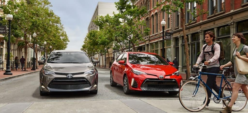 New 2019 Toyota Corolla car for sale vs the competition at Ventura Toyota dealership near Oxnard