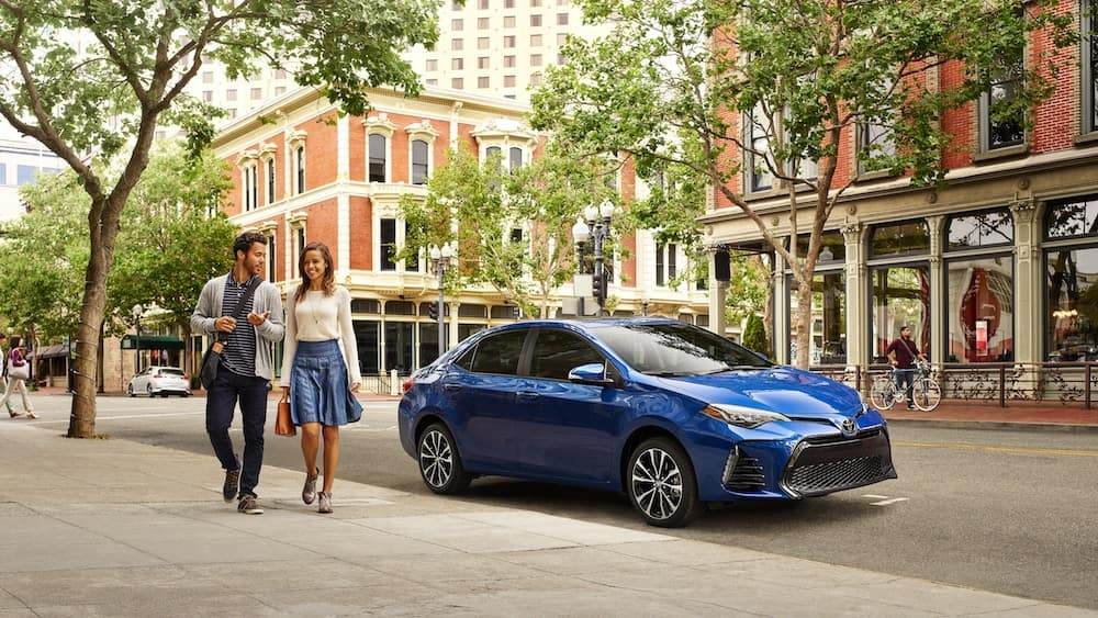 new 2019 Toyota Corolla maintenance warranty vs the competition