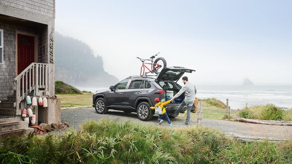 new 2019 Toyota RAV4 maintenance warranty vs the competition