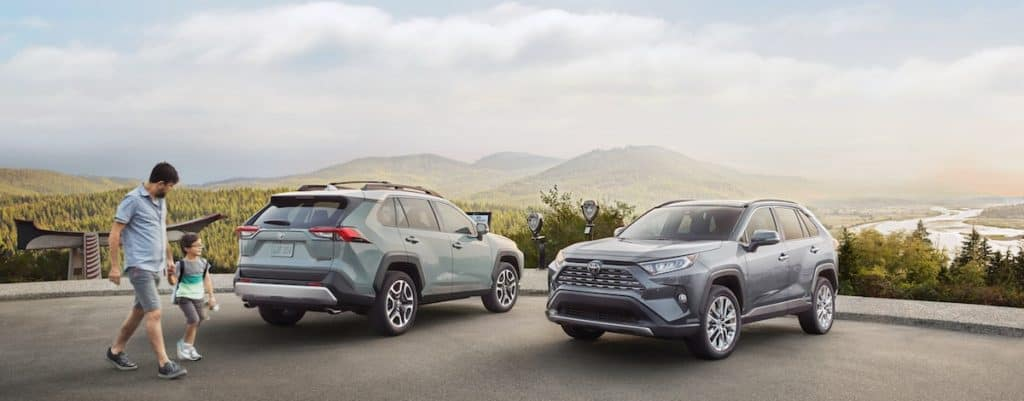 New 2019 Toyota RAV4 SUV for sale vs the competition at Ventura Toyota dealership near Oxnard