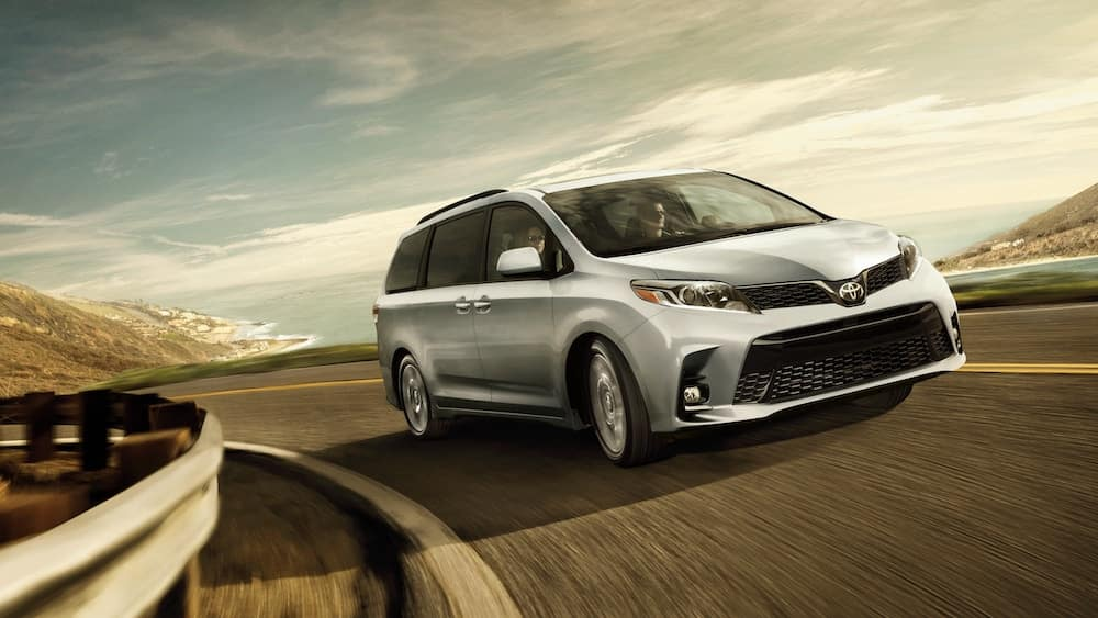 new 2019 Toyota Sienna horsepower vs the competition
