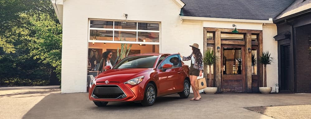 new 2019 Toyota Yaris starting MSRP vs the competition