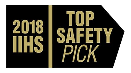 new Toyota Corolla 2018 IIHS Top Safety Pick award