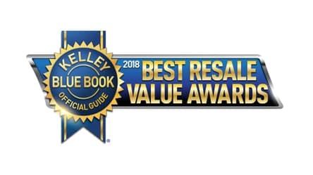 2018 Toyota Yaris Best Resale Value brand award