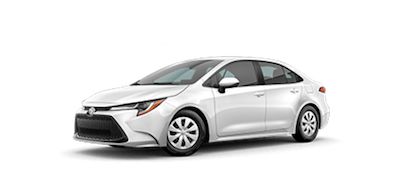 2020 Toyota Corolla L car for sale at Ventura Toyota dealership near Oxnard