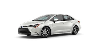 2020 Toyota Corolla Hybrid LE car for sale at Ventura Toyota dealership near Simi Valley