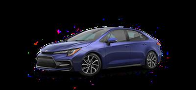 2020 Toyota Corolla SE CVT car for sale at Ventura Toyota dealership near Camarillo