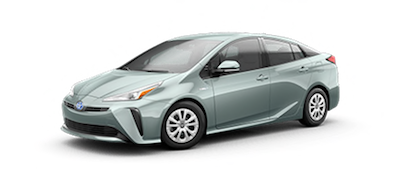 2020 Toyota Prius L Eco electric vehicle for sale at Ventura Toyota dealership near Oxnard