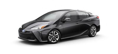 2020 Toyota Prius XLE electric vehicle for sale at Ventura Toyota dealership near Simi Valley