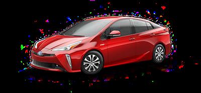 2020 Toyota Prius LE AWD-e electric vehicle for sale at Ventura Toyota dealership near Santa Barbara