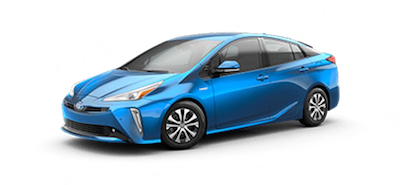 2020 Toyota Prius XLE AWD-e electric vehicle for sale at Ventura Toyota dealership near Westlake Village