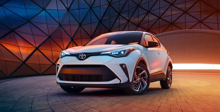 2020 Toyota C-HR refreshed exterior styling and color palette