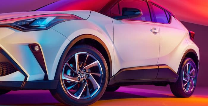 2020 Toyota C-HR available 18-in. alloy wheels