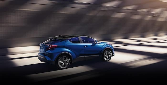 2020 Toyota C-HR available unique Black R-Code roof