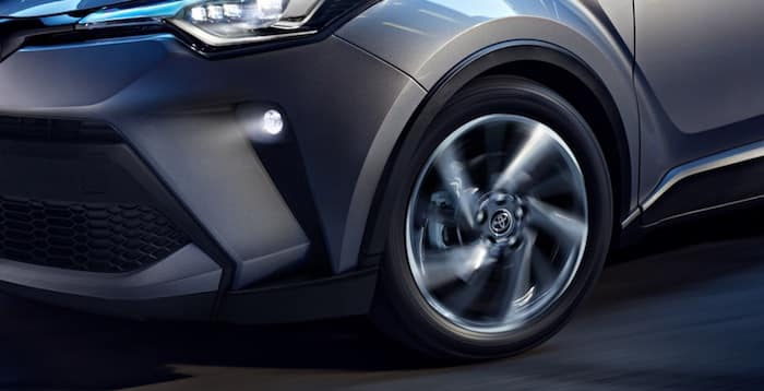 2020 Toyota C-HR sport-tuned suspension