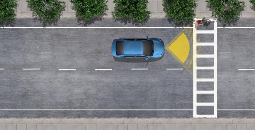 2020 Toyota C-HR standard Pre-Collision System with Pedestrian Detection