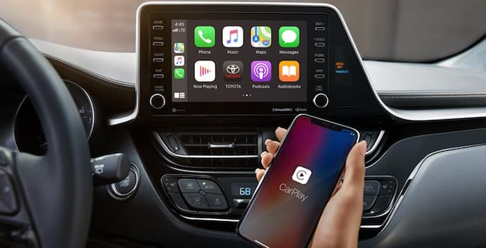 2020 Toyota C-HR Apple CarPlay compatibility